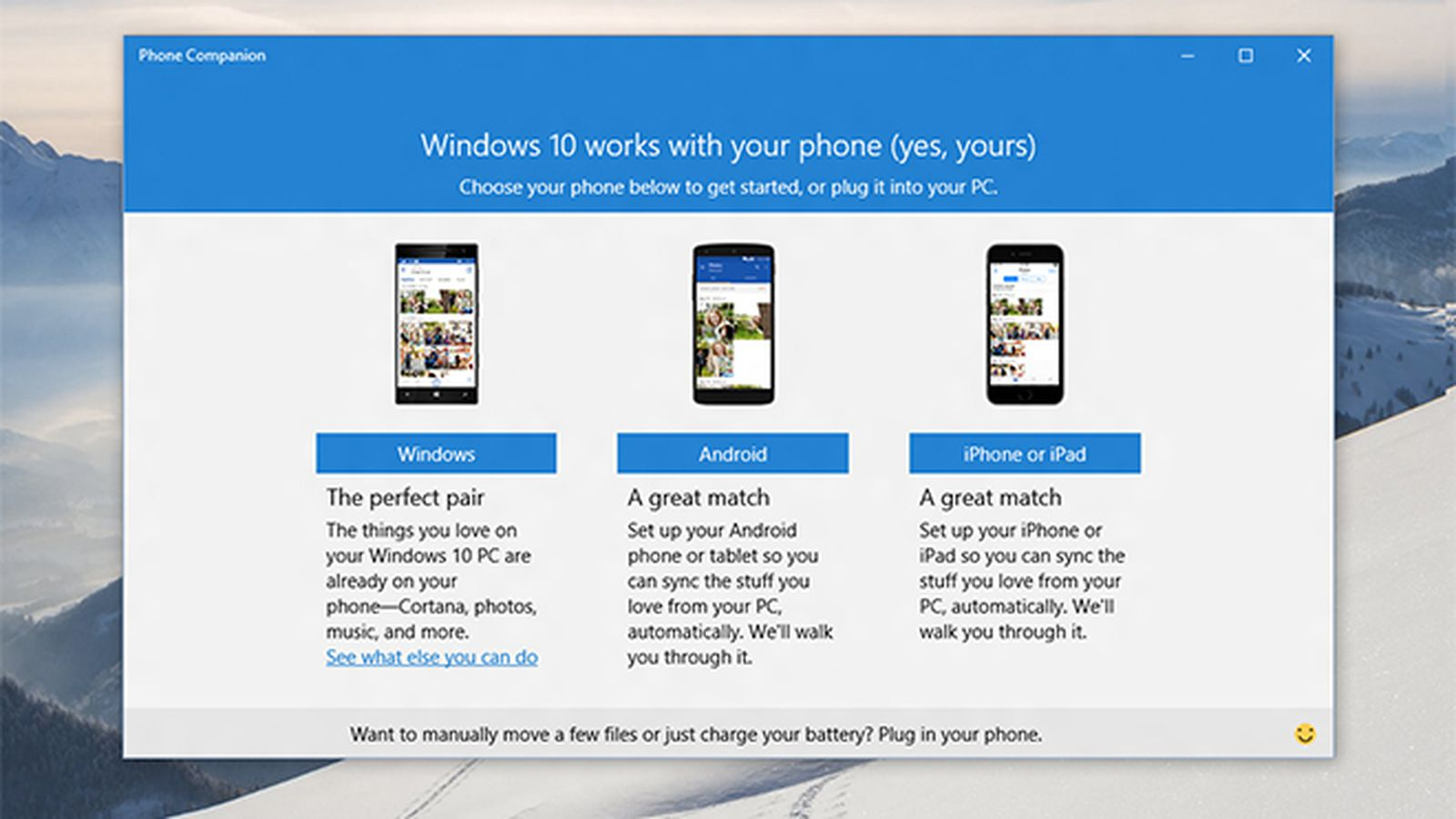 Windows 10's phone companion aims to link a PC to any ...
