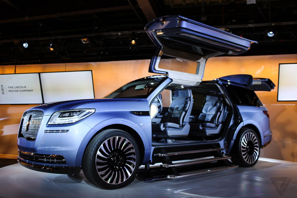 Lincoln Navigator Concept Announced New York Auto Show 2016