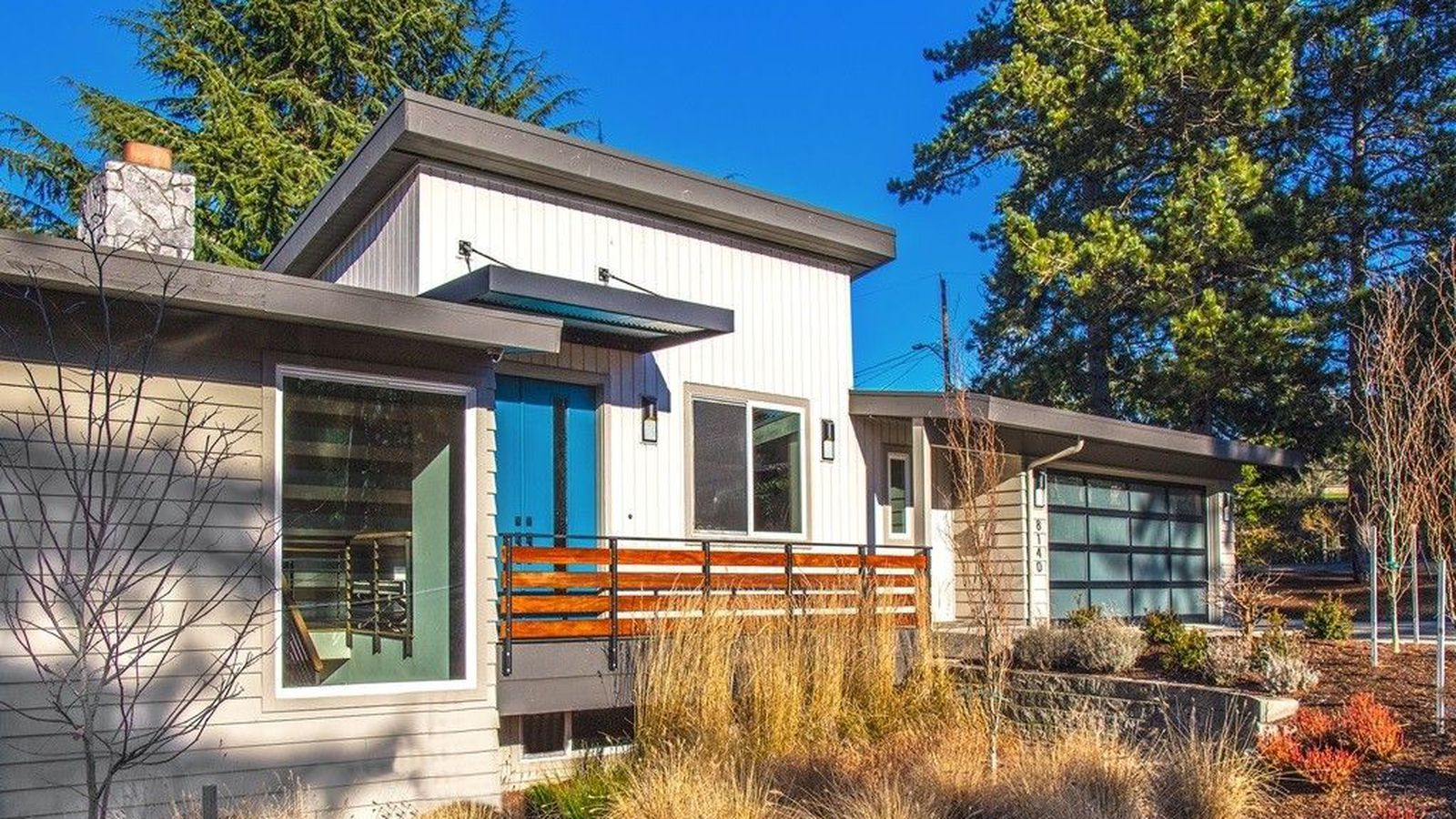 check out a modernized midcentury on mercer curbed seattle
