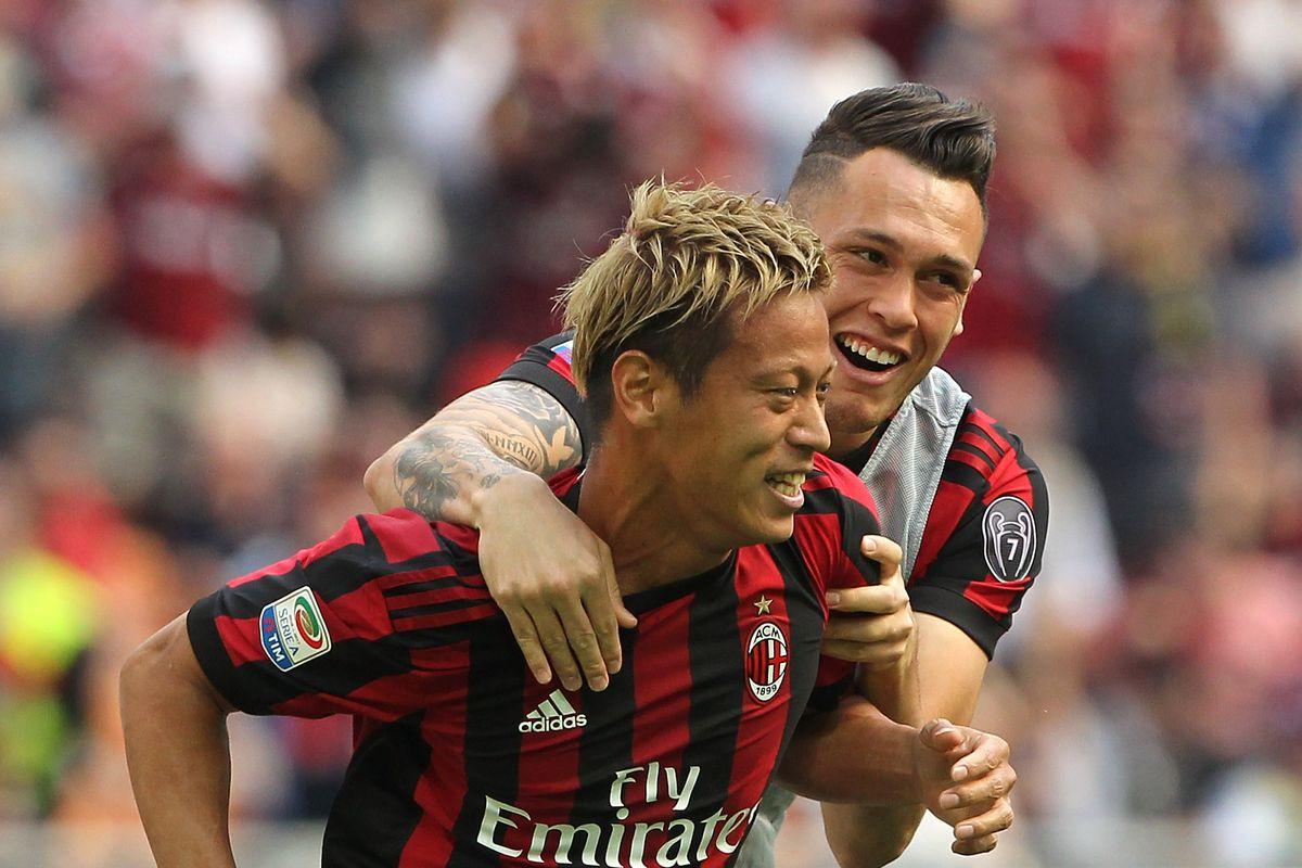 Keisuke Honda says he will leave AC Milan