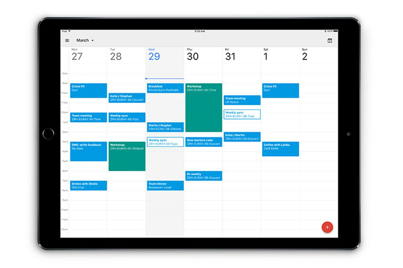 google calendar finally has a proper ipad app