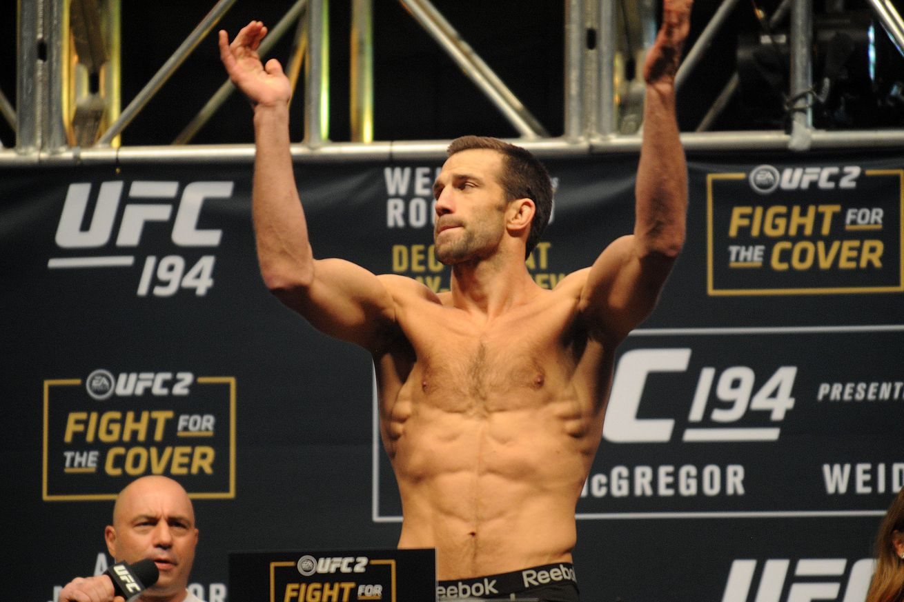 Luke Rockhold will fight Ronaldo 'Jacare' Souza to headline UFC Melbourne