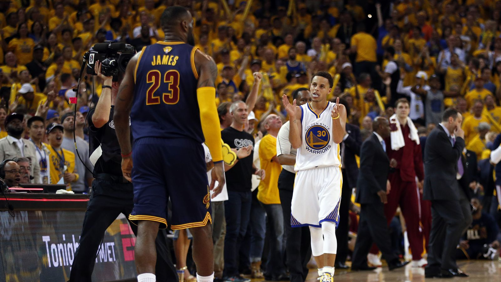 NBA Finals Game 2: Cleveland Cavaliers vs Golden State ...