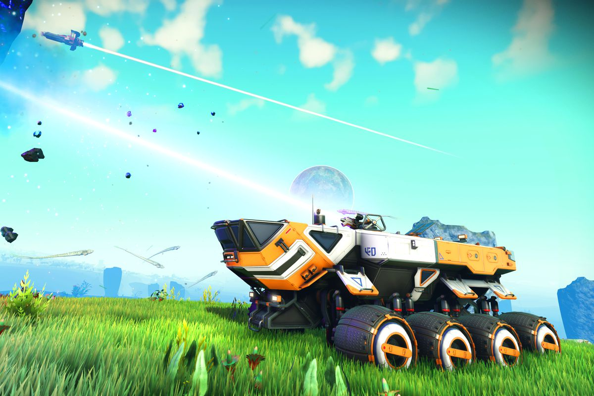 No Man S Sky Update Lets You Drive Around Any Planet Polygon