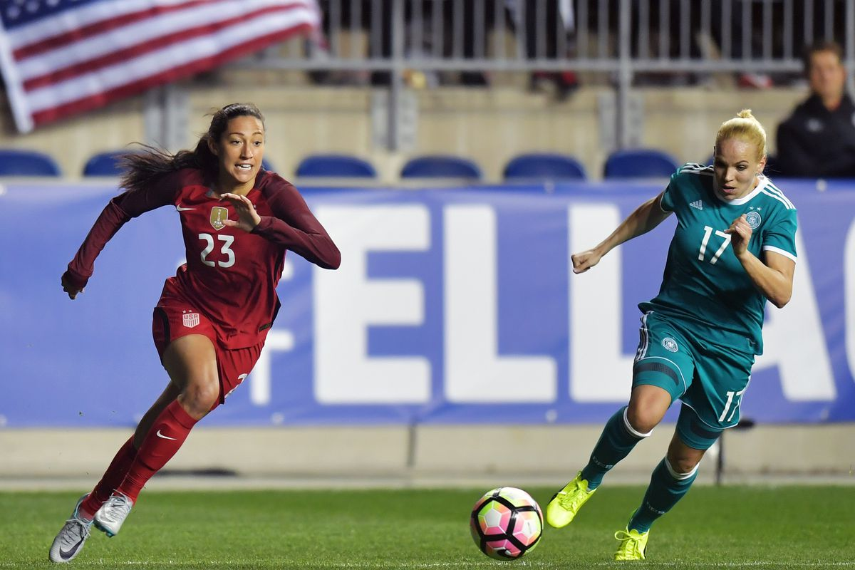 US vs Germany: How to watch the USWNT's SheBelieves Cup opening match