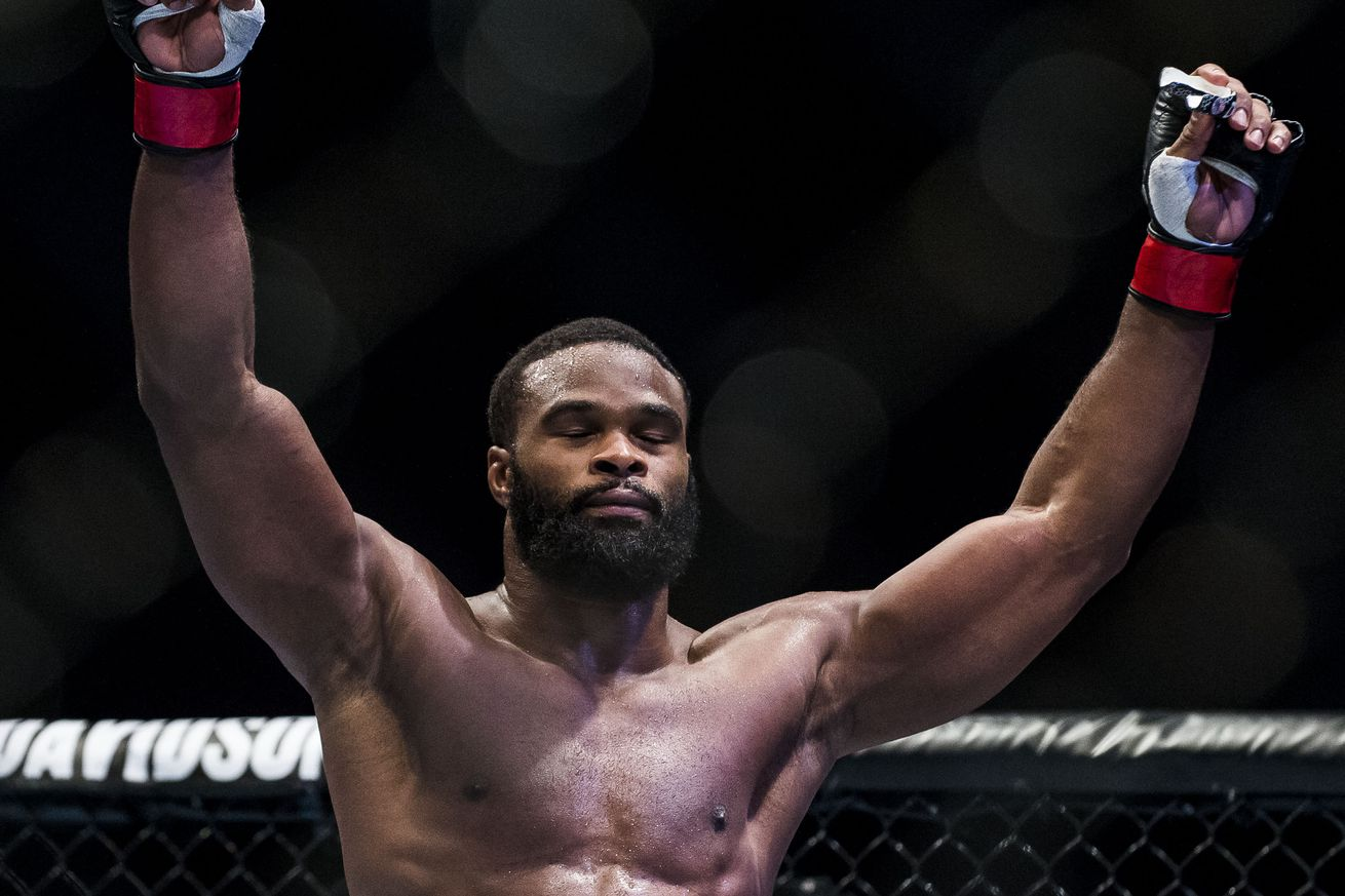 UFC champion Tyron Woodley bashes Stephen Wonderboy Thompson, says he should be able to pick next opponent