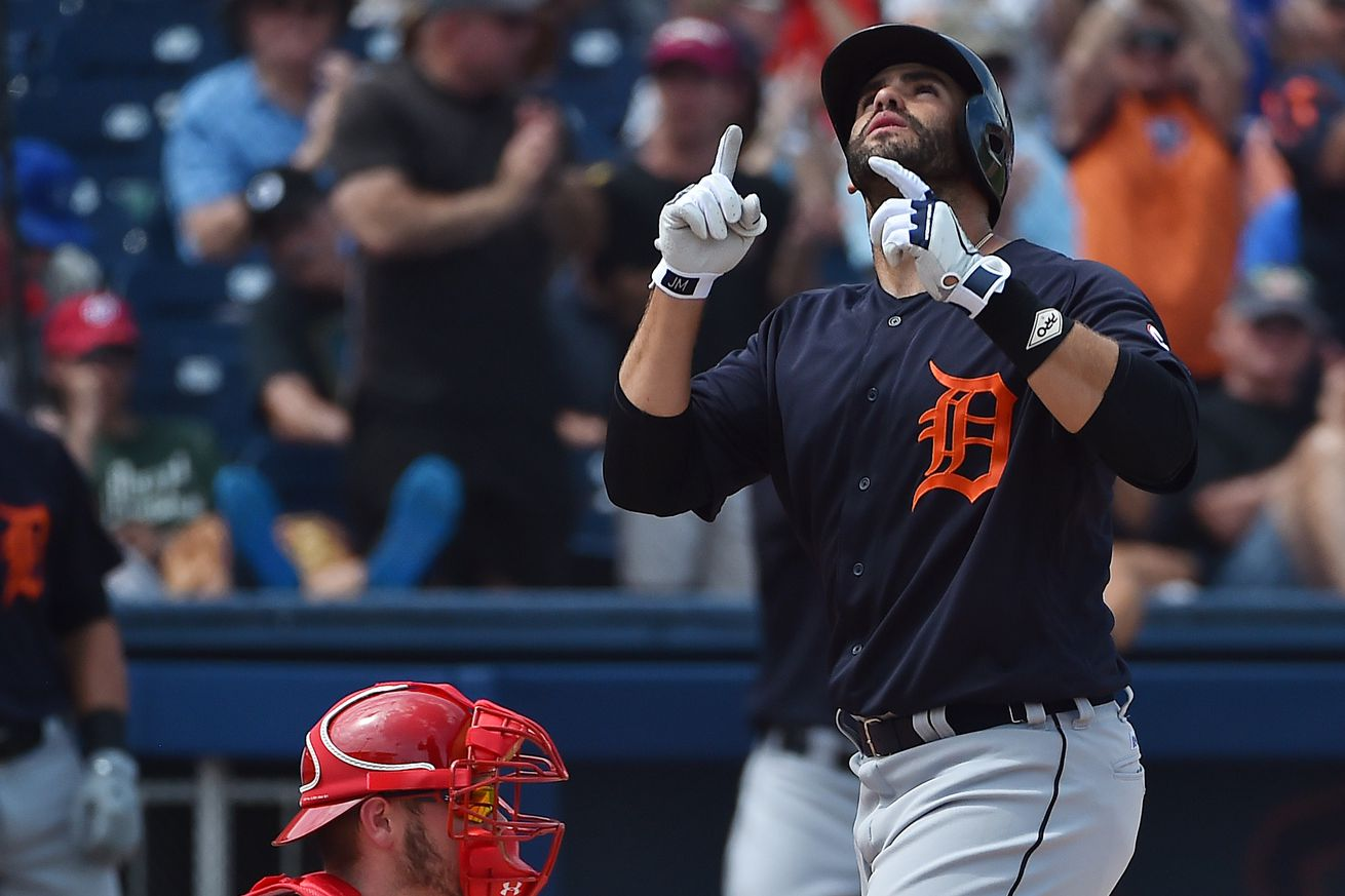 JD Martinez's 2nd homer lifts Tigers over Angels 4-3