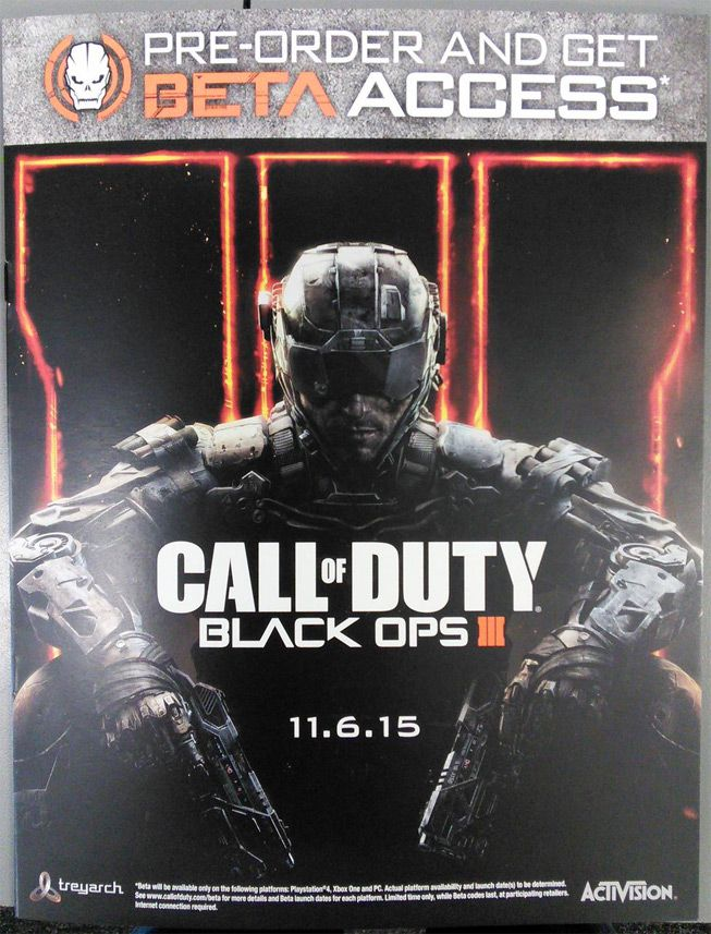 Call of Duty: Black Ops 3 Release Date and Beta Info Leaked