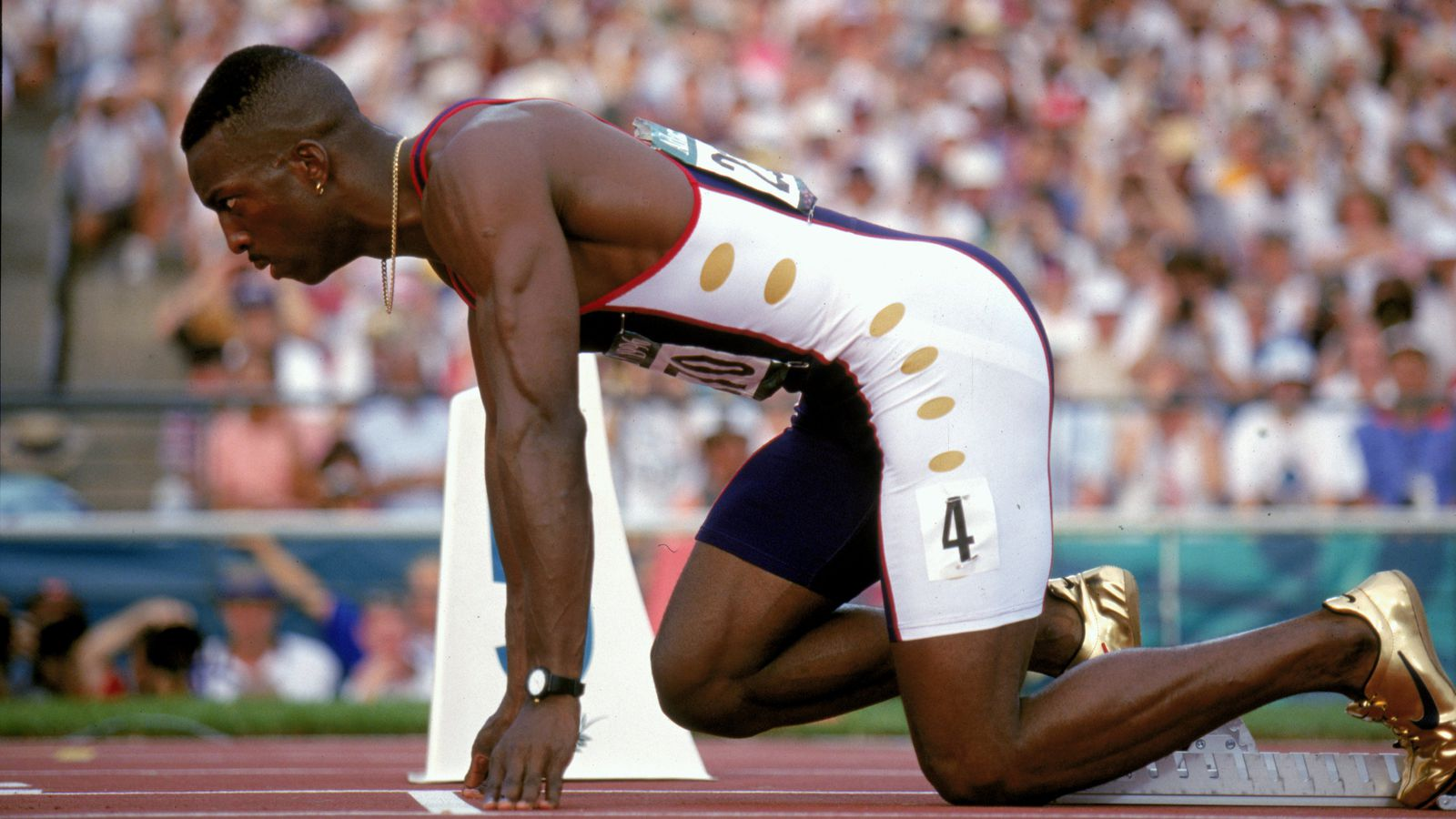20 years ago, Michael Johnson set a gold standard for speed that's impossible to forget ...
