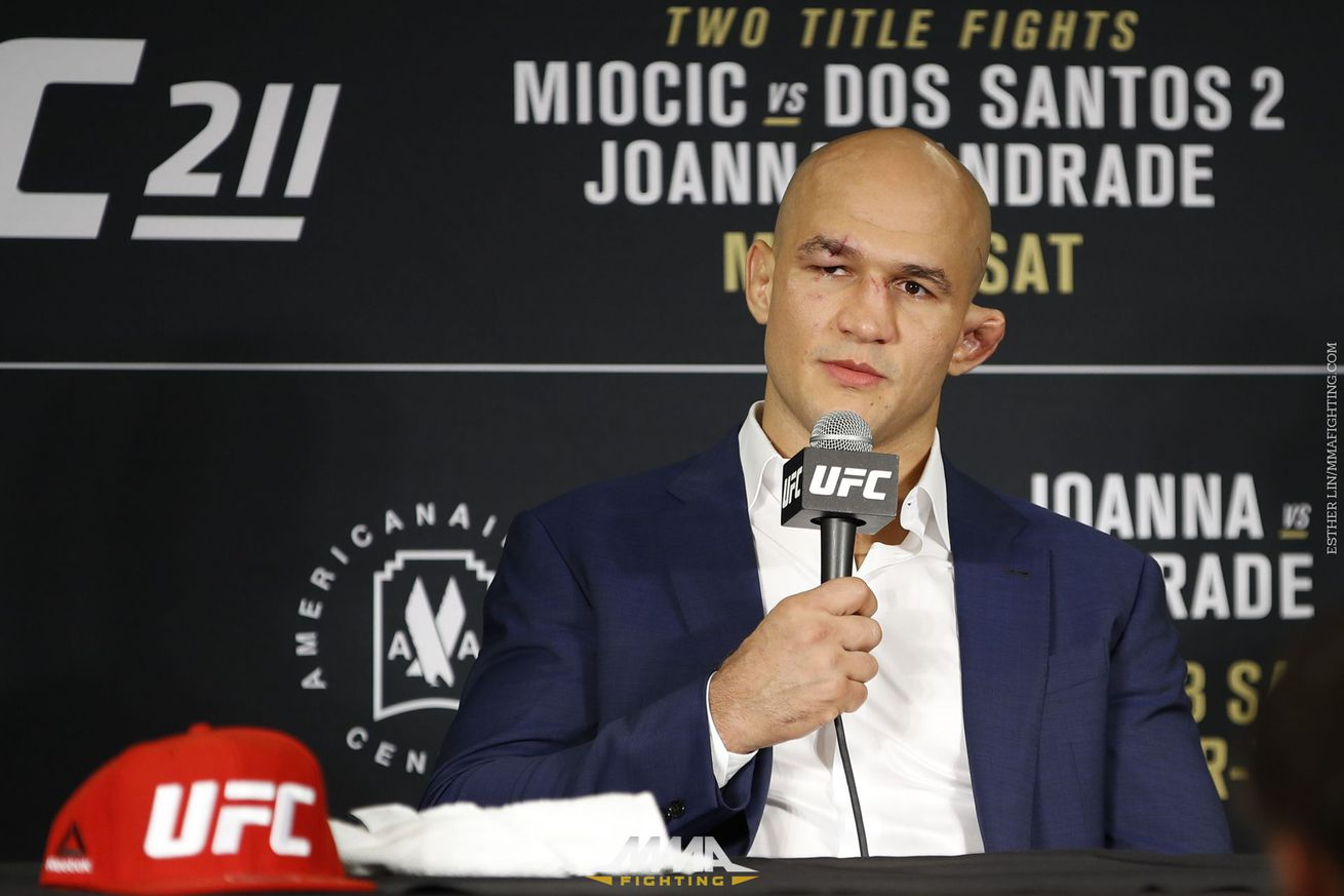 Junior dos Santos on loss at UFC 211: 'It's terrible, man, it's terrible'