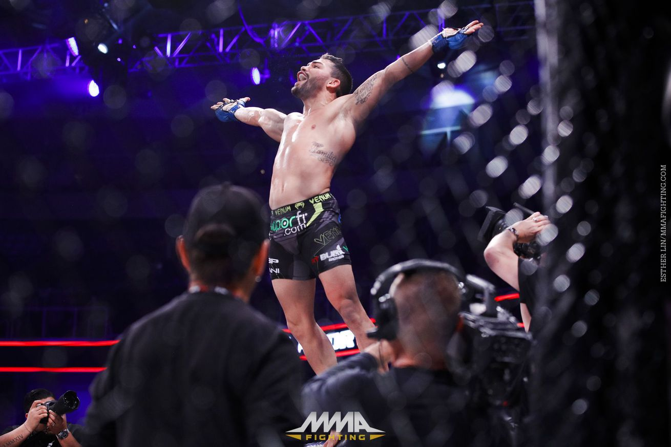 Patricky Freire credits karate coach for evolution, welcomes rematch with Michael Chandler