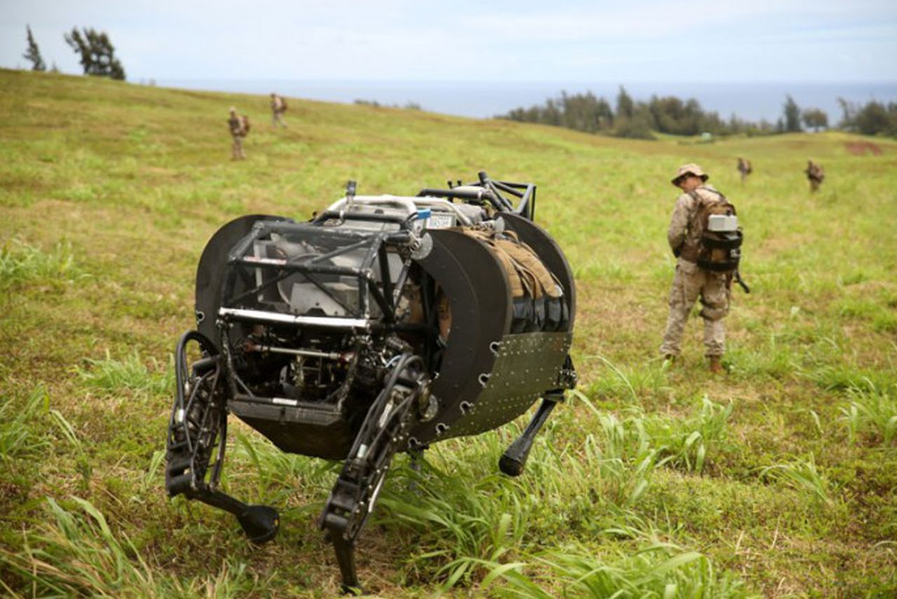 US military says robotic pack mules are too noisy to use ...