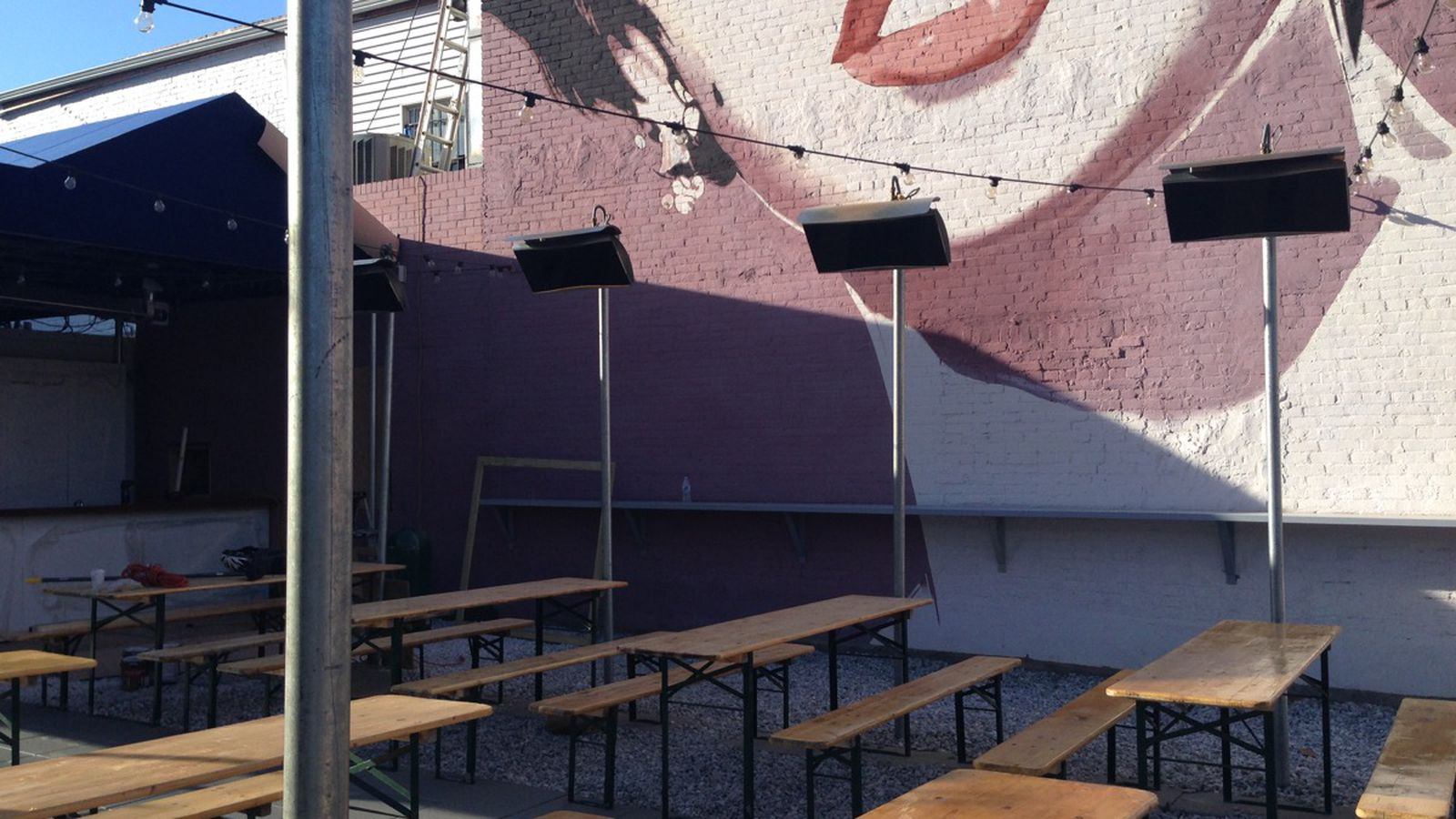 Dacha 39 S New And Improved Beer Garden Opens Today No More