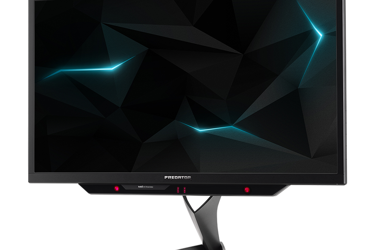 acer s predator x27 g sync hdr gaming monitor does 4k at 144hz