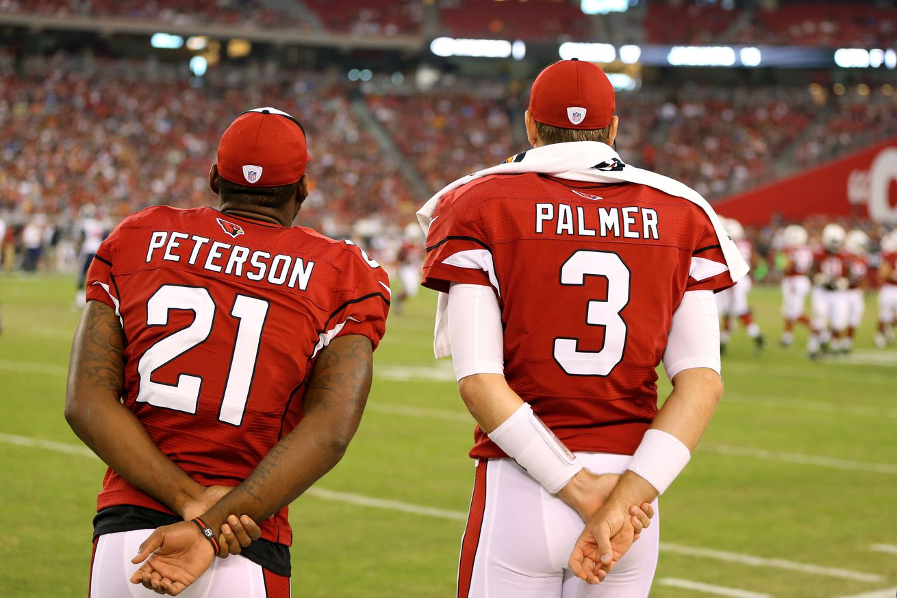 Jerseys NFL Wholesale - NFL offseason: Carson Palmer, Patrick Peterson salaries become ...