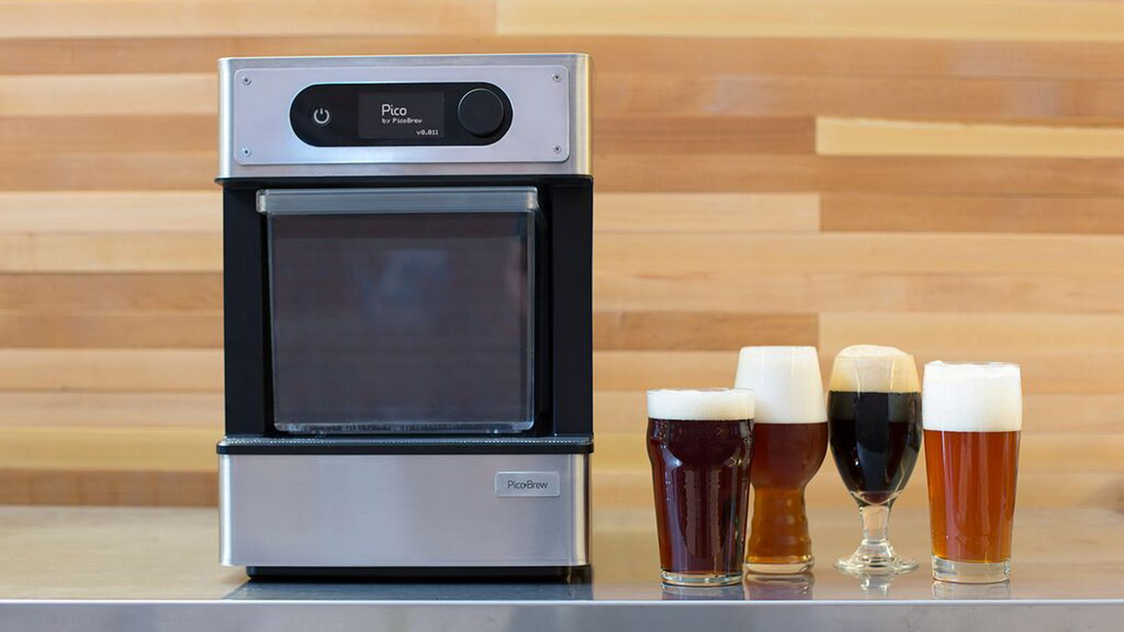 The keurig of home brewing batches craft beer at the push for Home brew craft beer