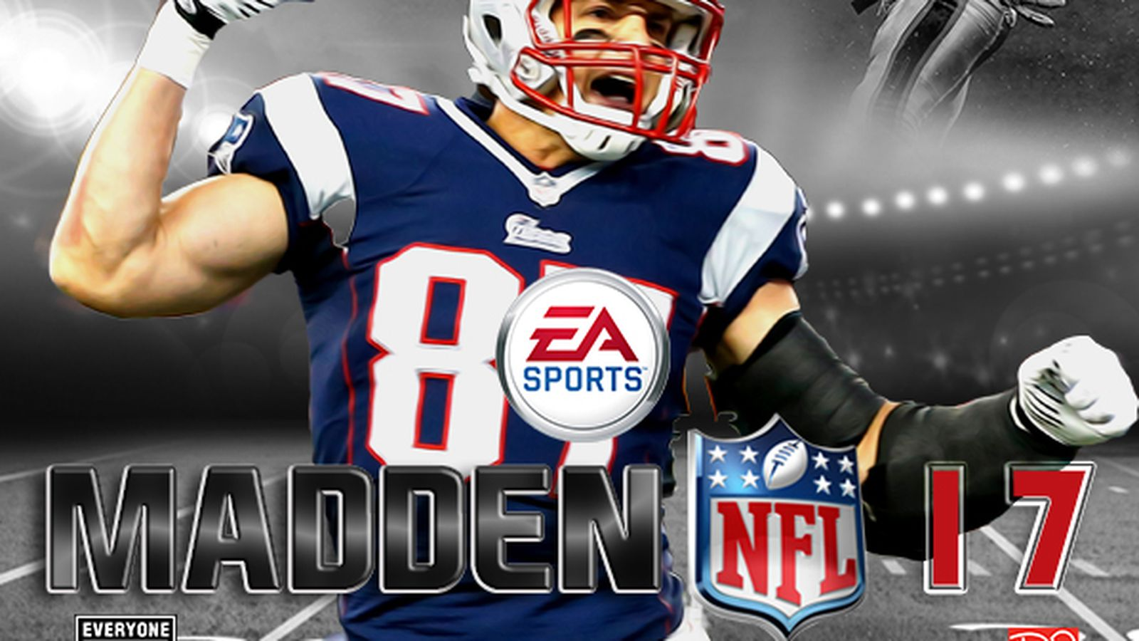 madden nfl 17 rob gronkowski cover image