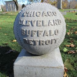 Inscription, the other four NL teams, Detroit was the longest survivor except Chicago and Boston, their last year was 1888