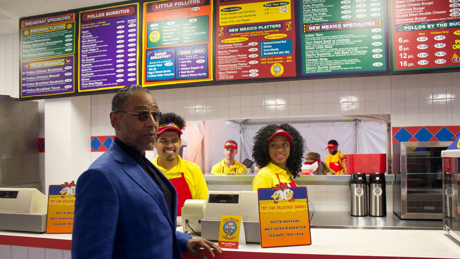 Los Pollos Hermanos from 'Breaking Bad' is popping up in LA this week