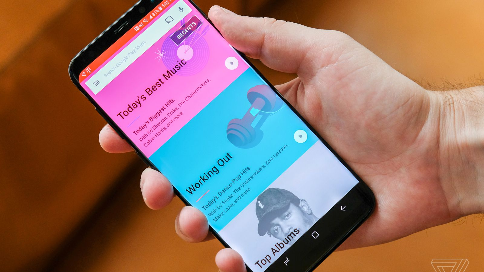 photo image Samsung will use Google Play Music as the default music app on its devices