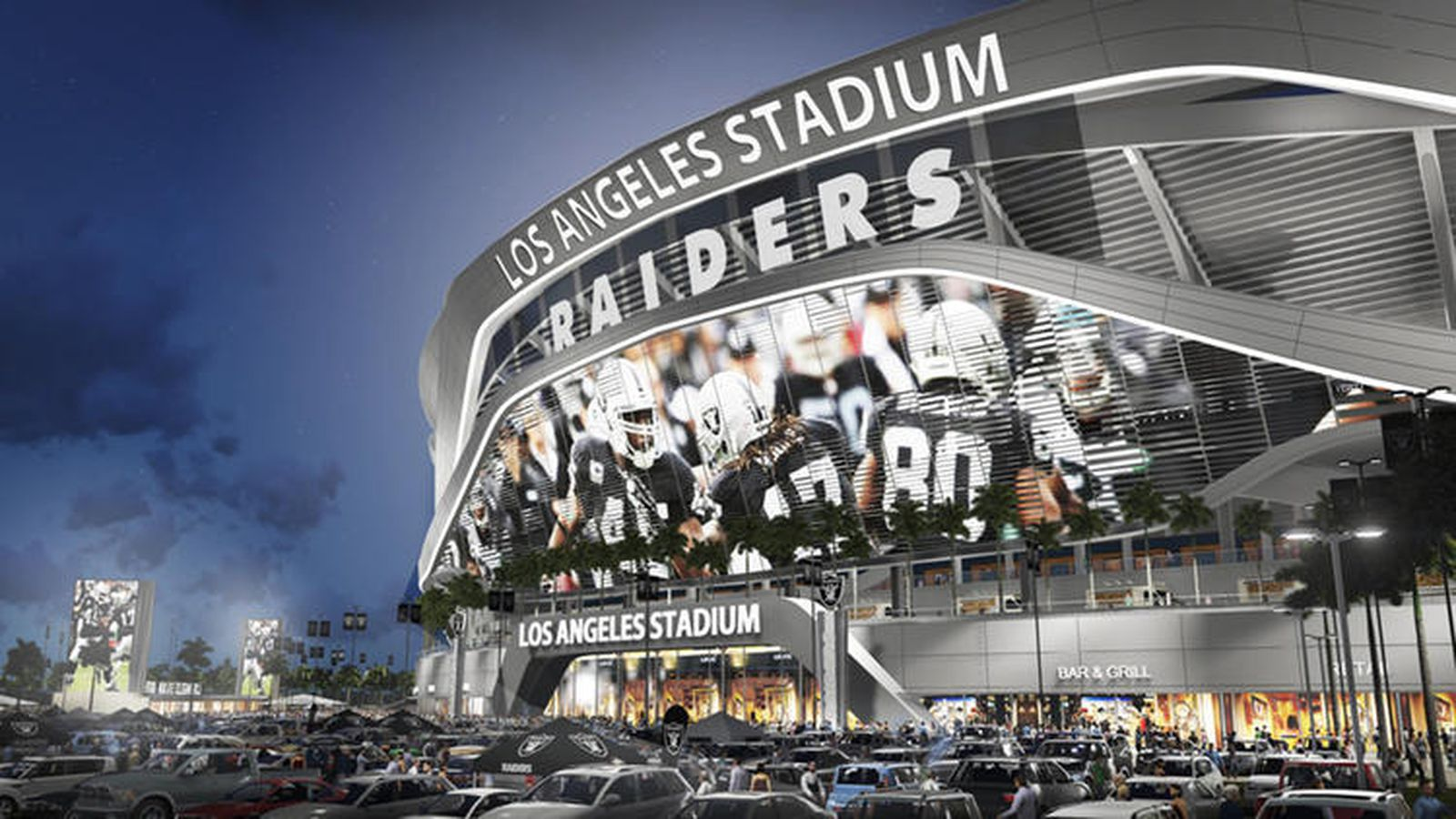 Raiders Proposed New Stadium Could Be Next Up For Super