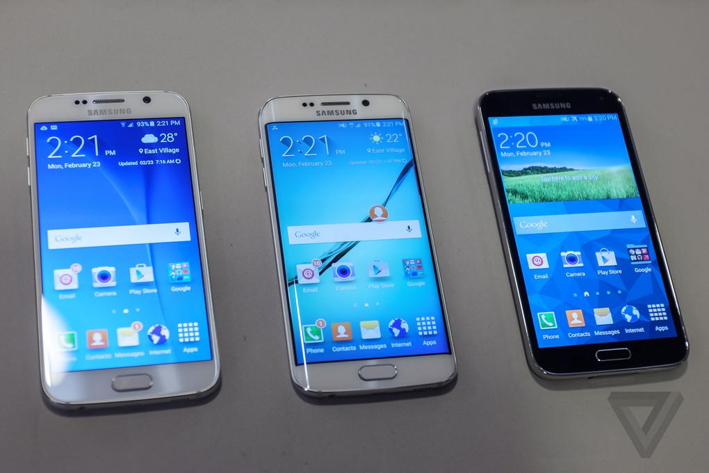 [MWC 2015] Ngắm nhìn từng góc cạnh Samsung Galaxy S6, S6 Edge: kính, kim loại, bóng bẩy - 64213