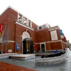 The plaza of the museum features original cannons and was designed by local landscape architecture firm Olin.