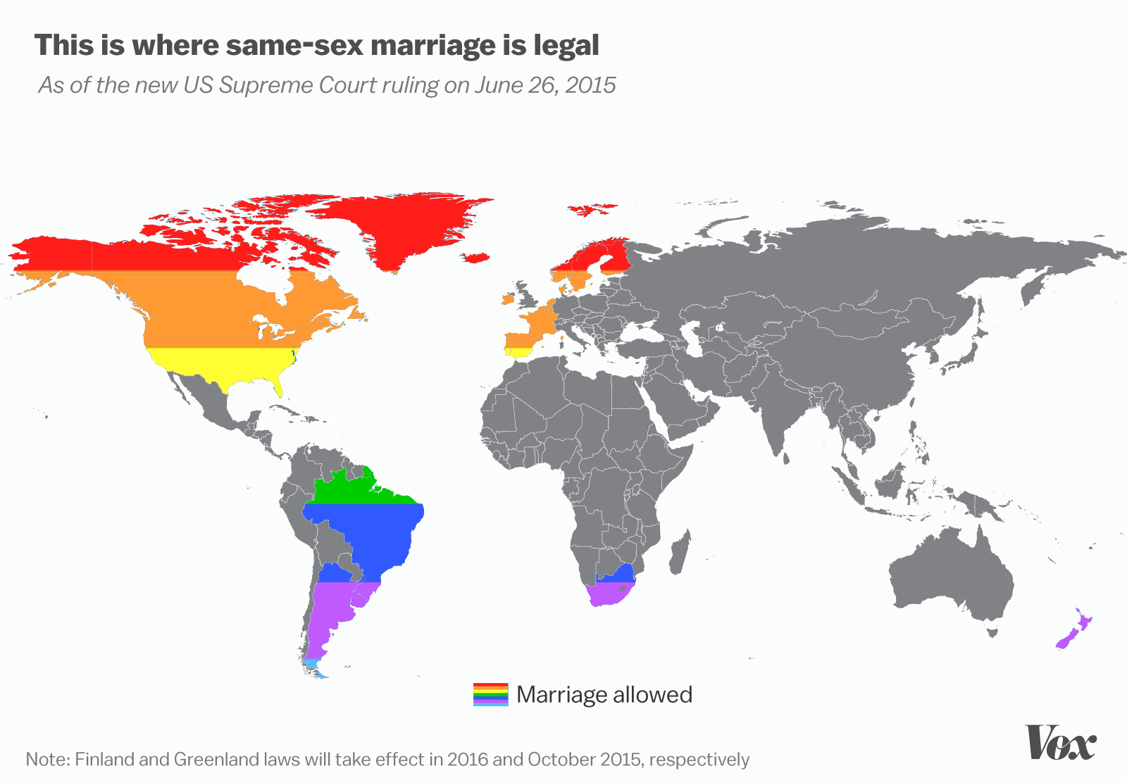 Why does every country not legalize gay marriage