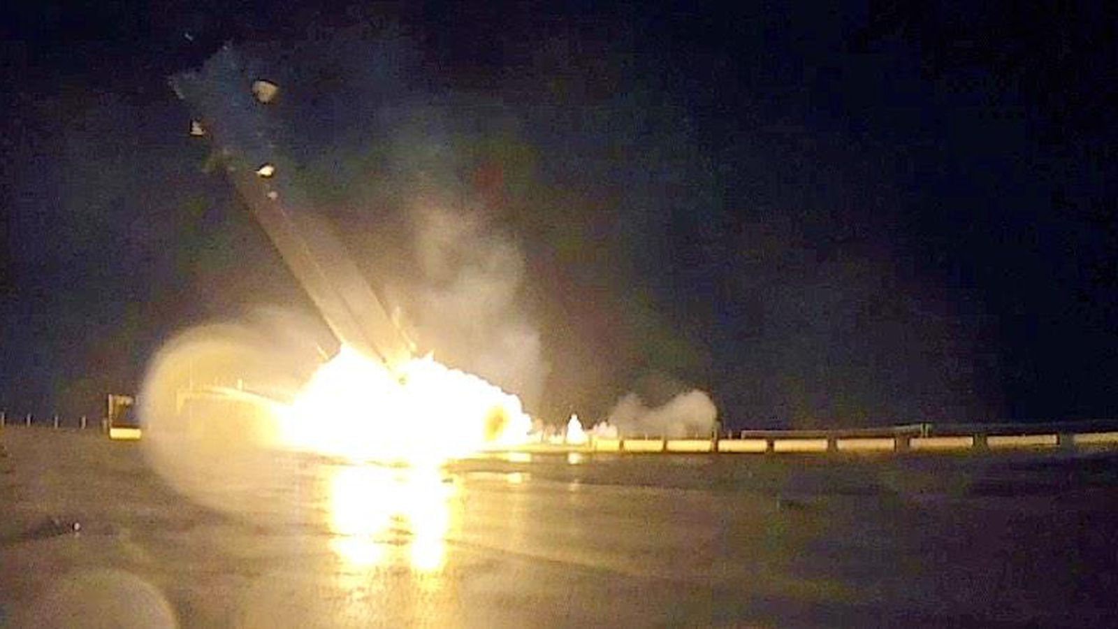Видео аварии Falcon 9 (2 фото+видео)