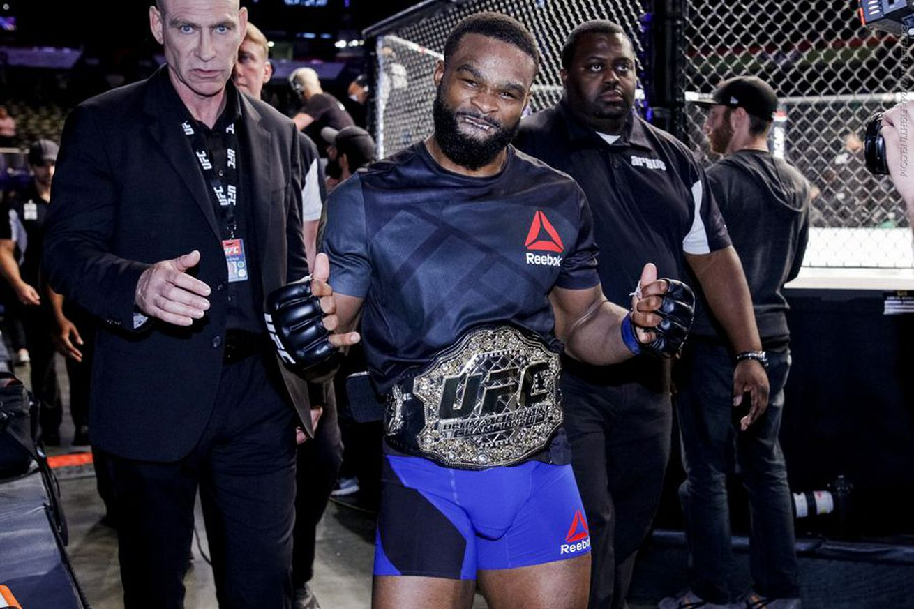 Dana White: 'Drama queen' Tyron Woodley doesn't get booed because he's black