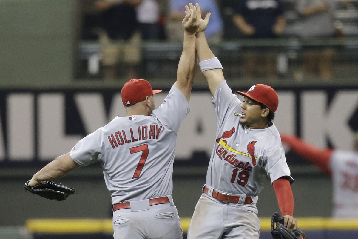 why i hate the damned cardinals an essay brew crew ball mike mcginnis