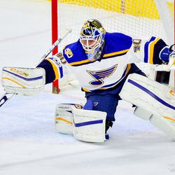 Carter Hutton did a lot of this last night