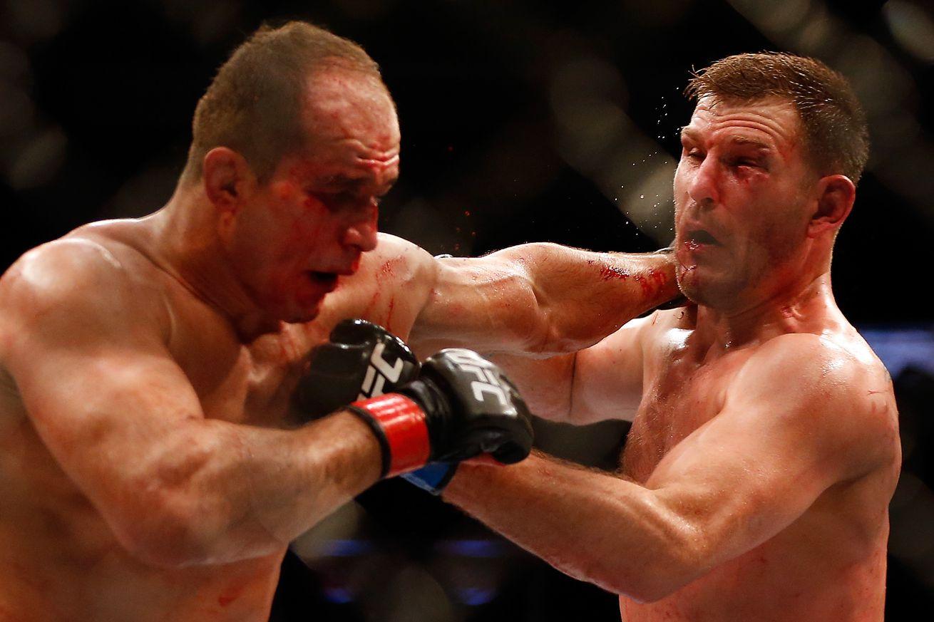 Report: Stipe Miocic vs Junior dos Santos 2 headlines UFC 211 on March 13 in Dallas