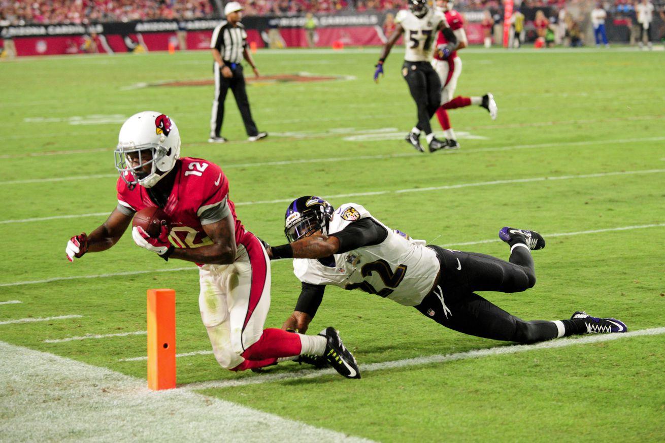 Cheap NFL Jerseys - Cardinals vs. Browns inactives: John Brown, Jerraud Powers to play ...