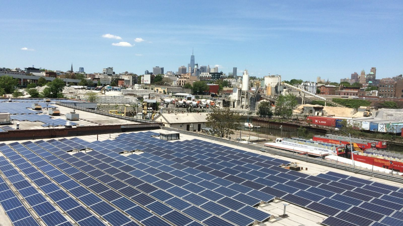 Solar Power S Future May Be On These Brooklyn Rooftops