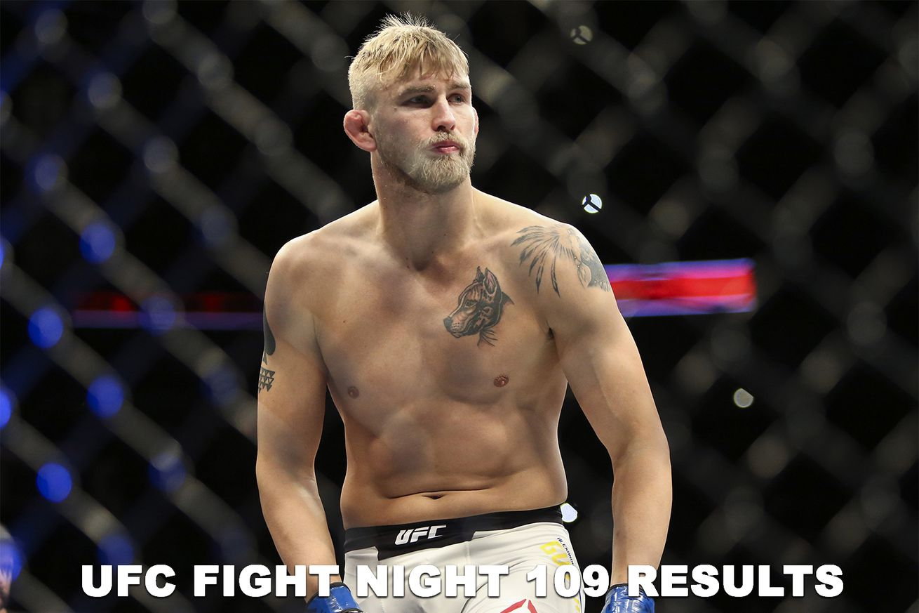 UFC Fight Night 109 live results stream, Gustafsson vs Teixeira play by play updates