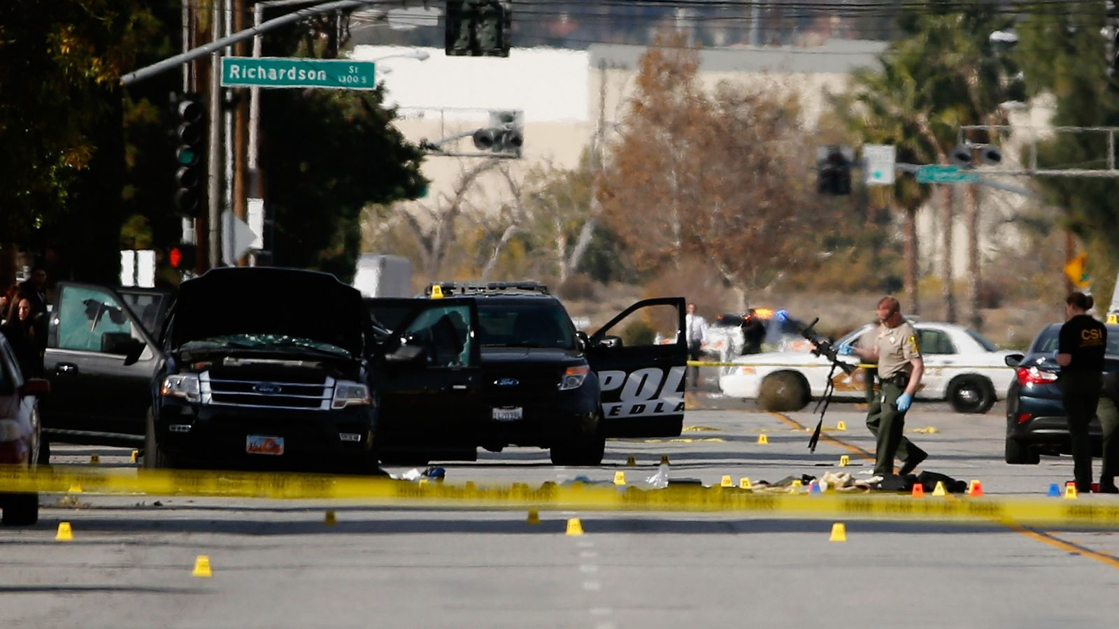 Families of the San Bernardino terrorist attack victims have filed a lawsuit against Facebook, Google and Twitter