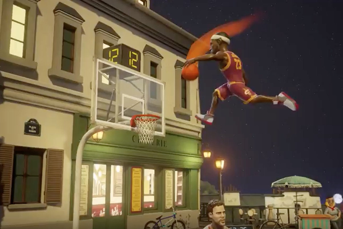 NBA Playgrounds slam dunks onto the Switch eShop this May