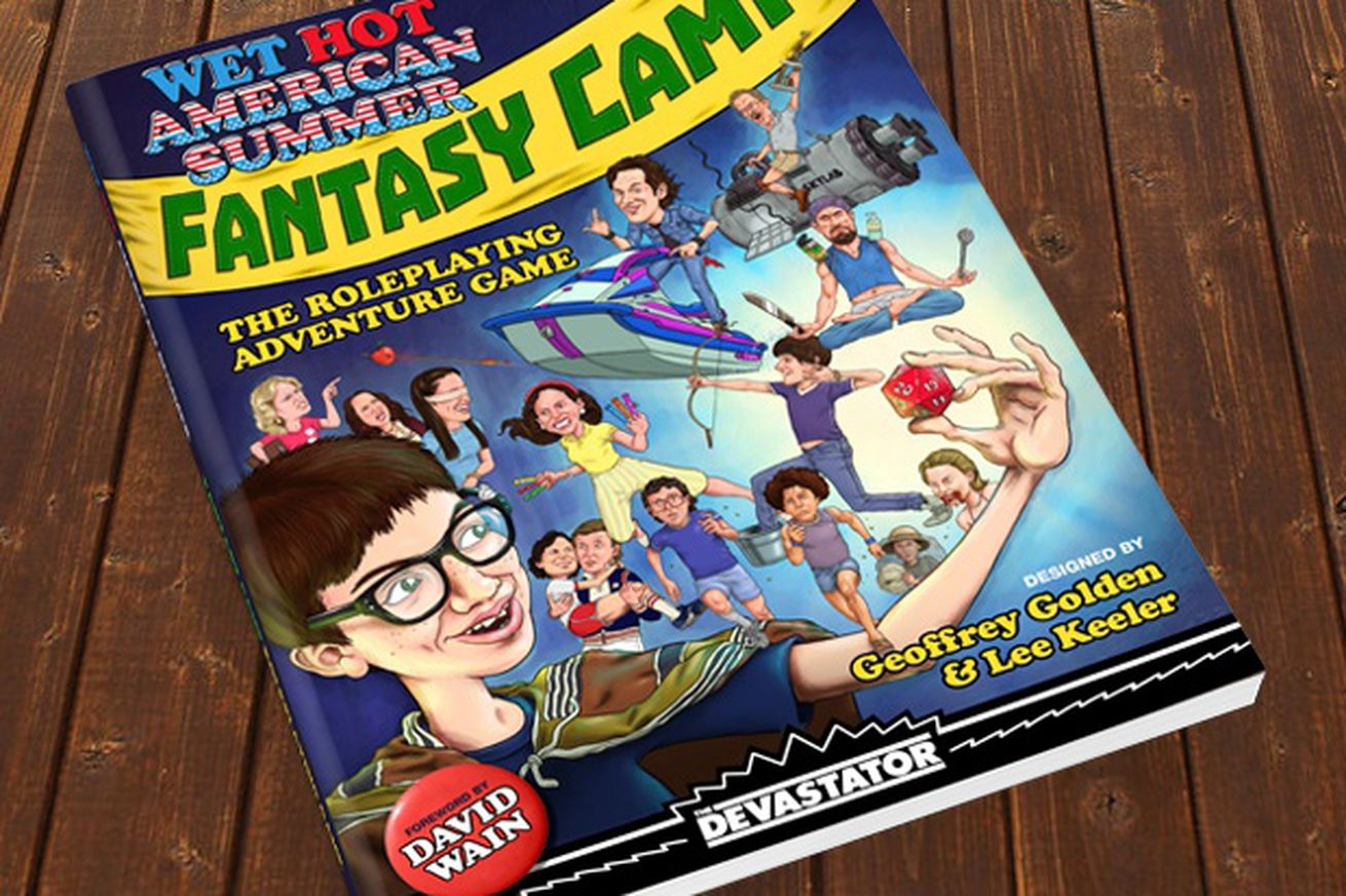 The Wet Hot American Summer tabletop game is D&D for comedy nerds