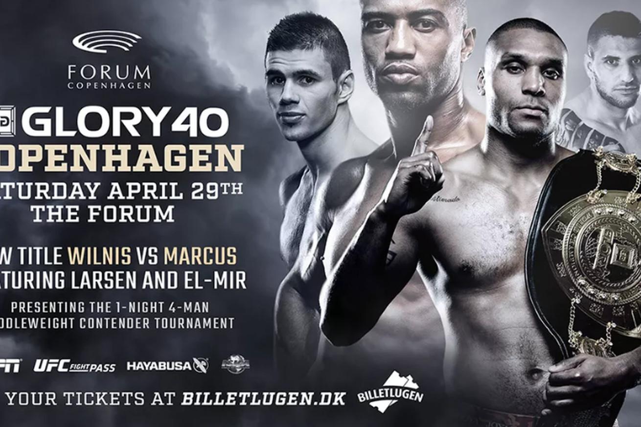 community news, GLORY 40 results: Simon Marcus reclaims 185 pound crown, Yousri Belgaroui wins middleweight tournament