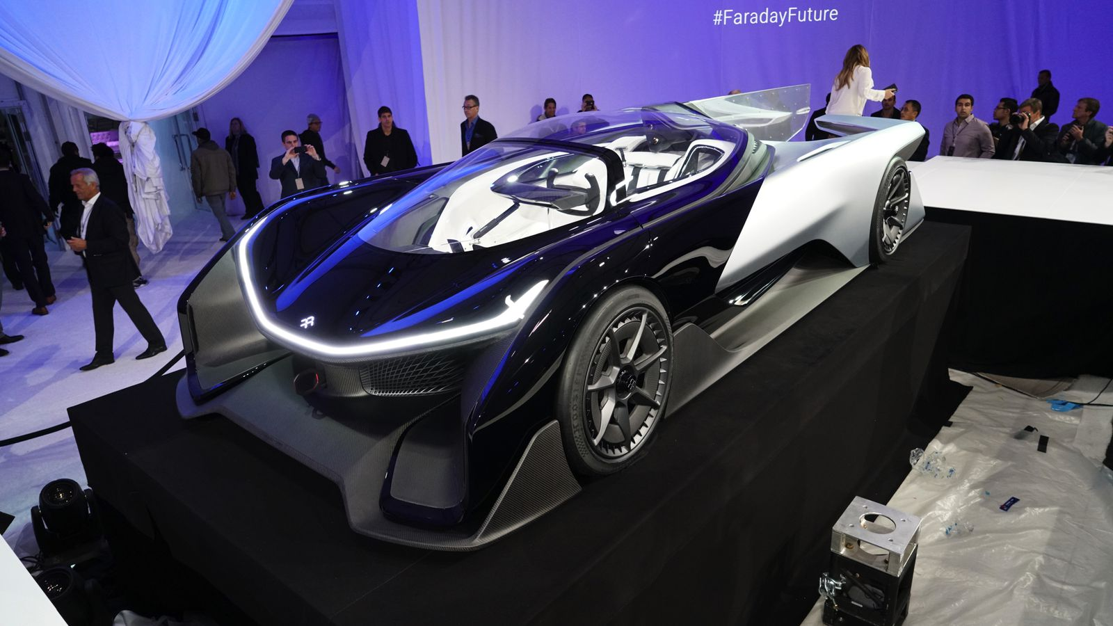 Two top Faraday Future executives just resigned