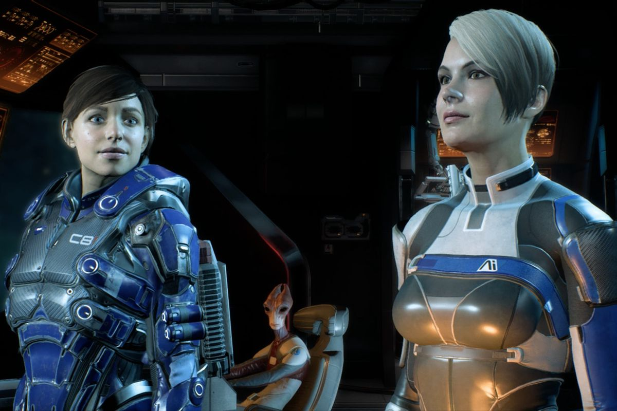 mass effect andromeda how to change squad weapons