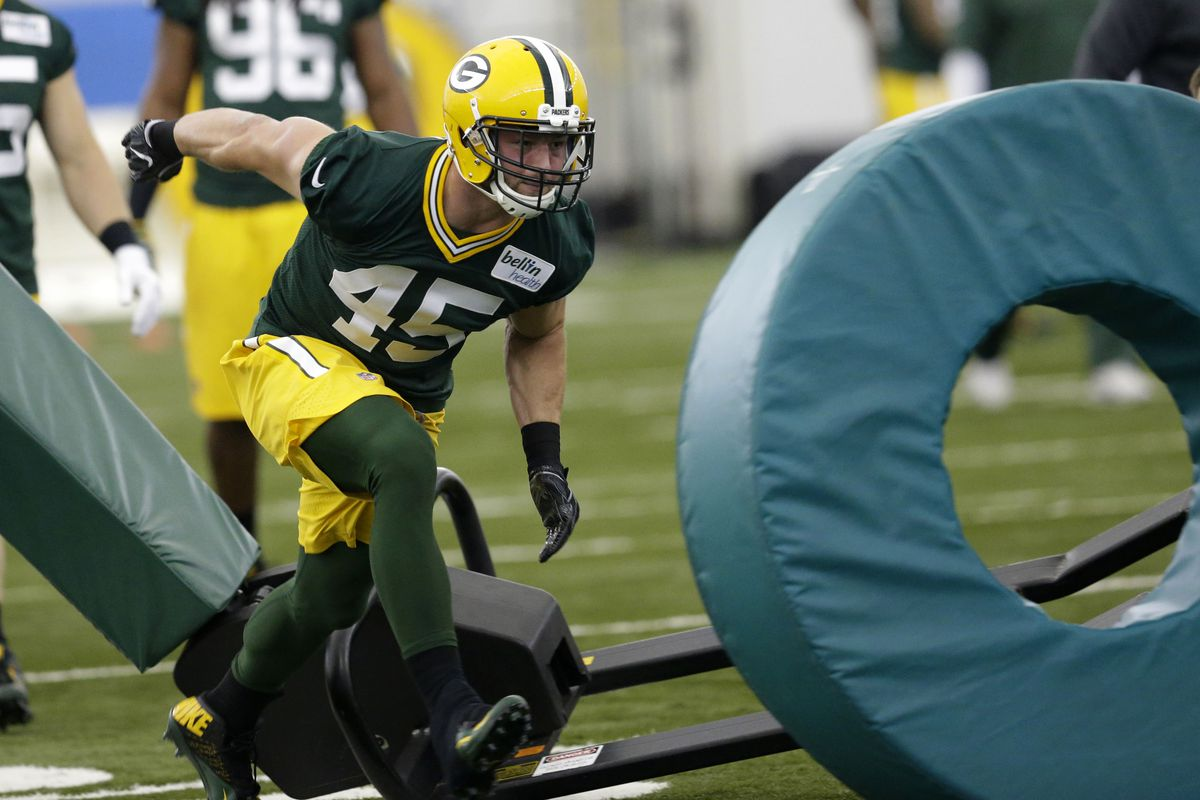 Packers rookie linebacker Vince Biegel has foot surgery