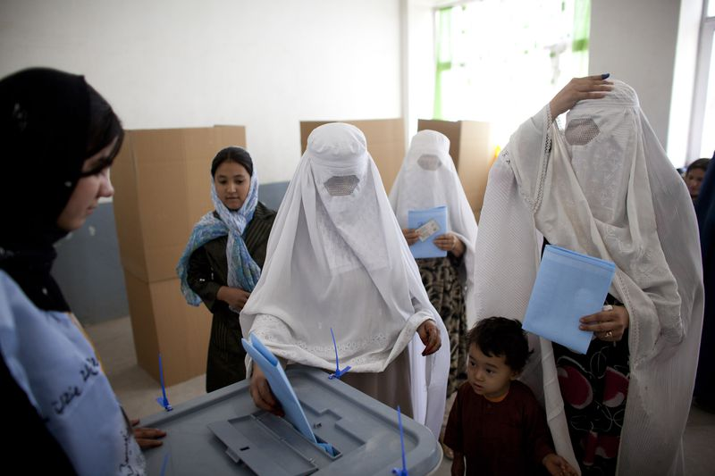 Afghans Go To the Polls For Parliamentary Elections
