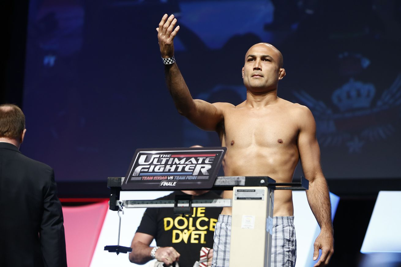 A B.J. Penn victory over Yair Rodriguez would be like a reunion to simpler times