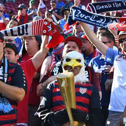 American Outlaws showed up in full force.