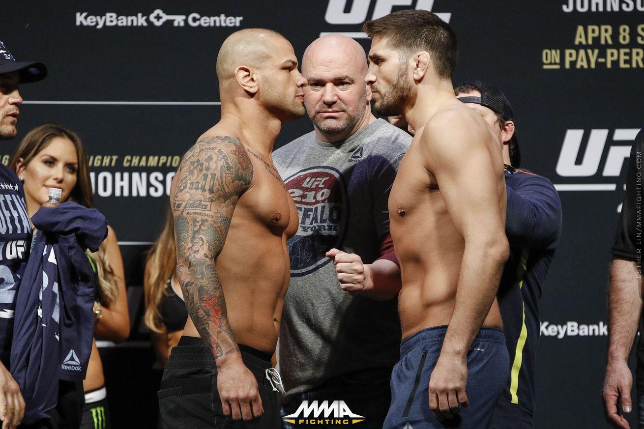 community news, UFC 210 live blog: Thiago Alves vs. Patrick Cote