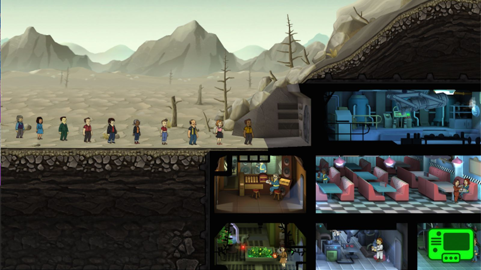 Your first look at Fallout Shelter