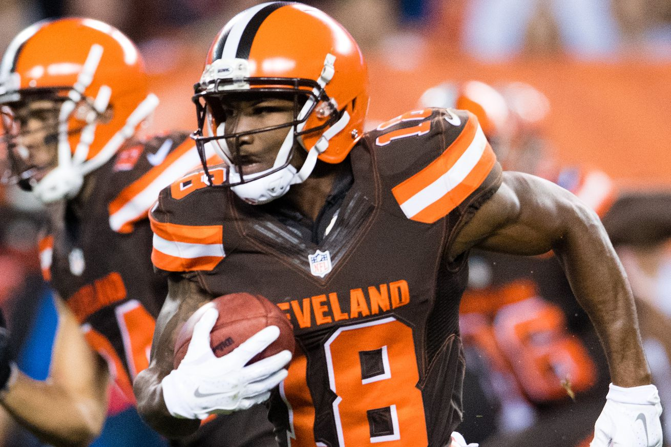 Former Browns players claimed: WR Taylor Gabriel to the Falcons ...