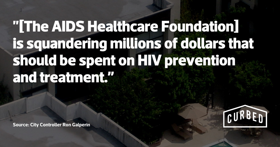 City Controller Blasts Aids Healthcare Foundation For